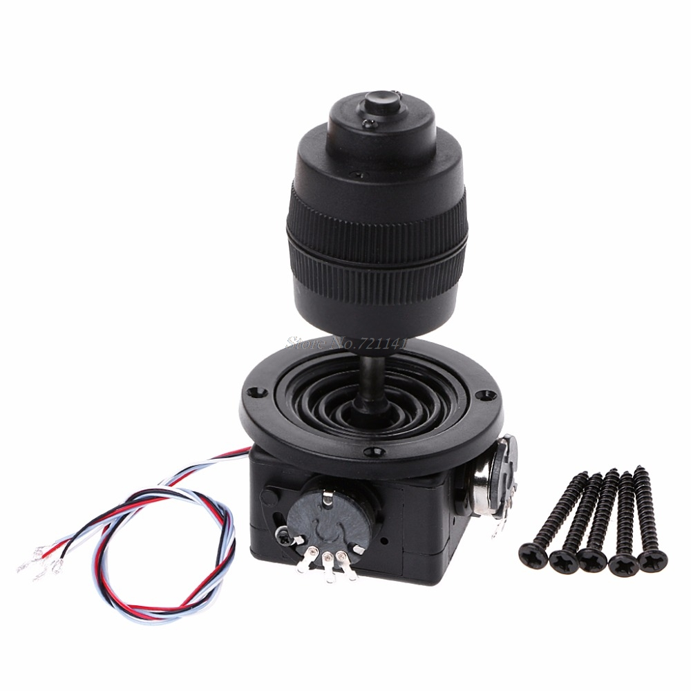 4-Axis Plastic Joystick Potentiometer For JH-D400X-R4 10K 4D With Button Wire
