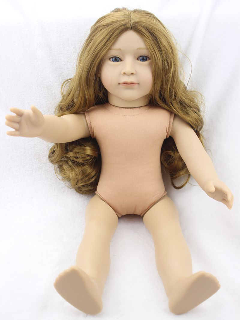 Pursue 6 Style American Girl Baby Doll Naked 18/45 cm New Design Lifelike Baby Doll American Girl Naked for Children Girl Gift pursue 18 new design lifelike american girl baby doll naked plastic american baby girl princess doll toy gift for children girl