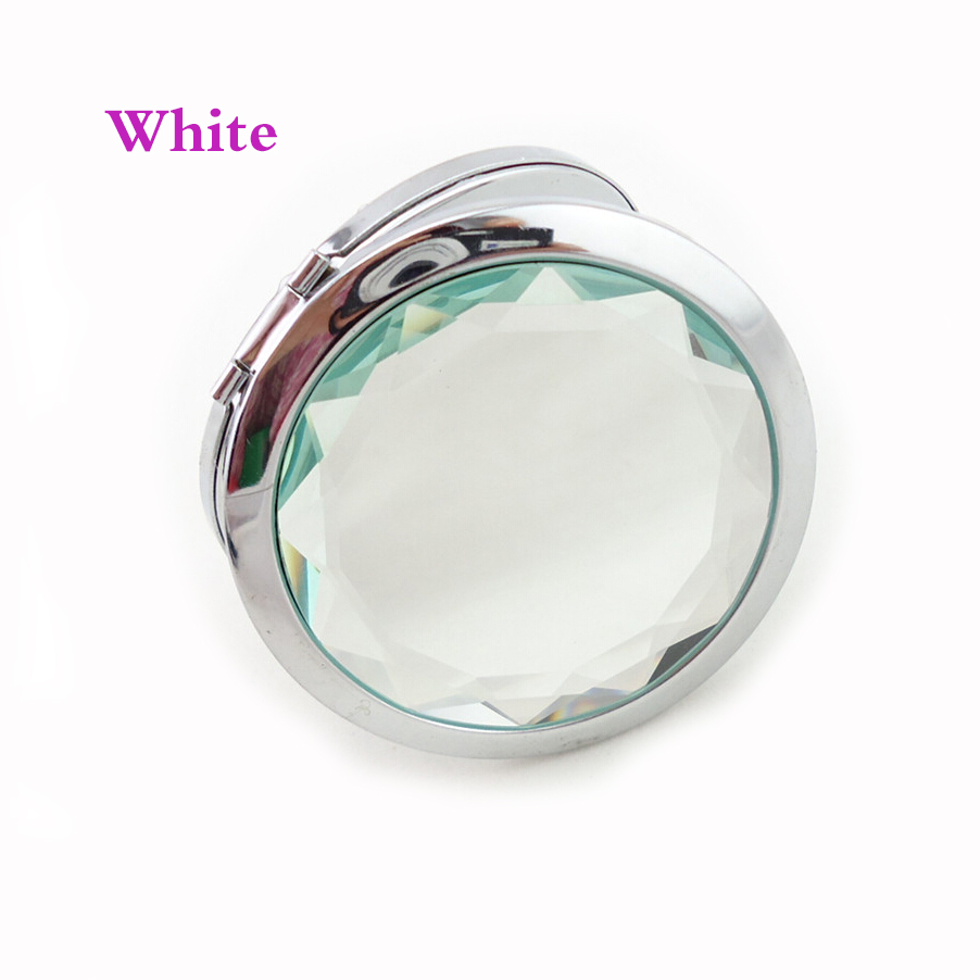 Fashion beauty tool mirror personalized wedding favors for guest custom free with your wish text and design 30pcs a lot in Party Favors from Home Garden
