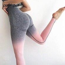 Pantaloni di Yoga delle signore Abbigliamento Sportivo Per Le Donne A Vita Alta Formazione Della Flessione Ombre Senza Soluzione di Continuità Delle Ghette di Sport Da Jogging Femme Leging Per Il Fitness