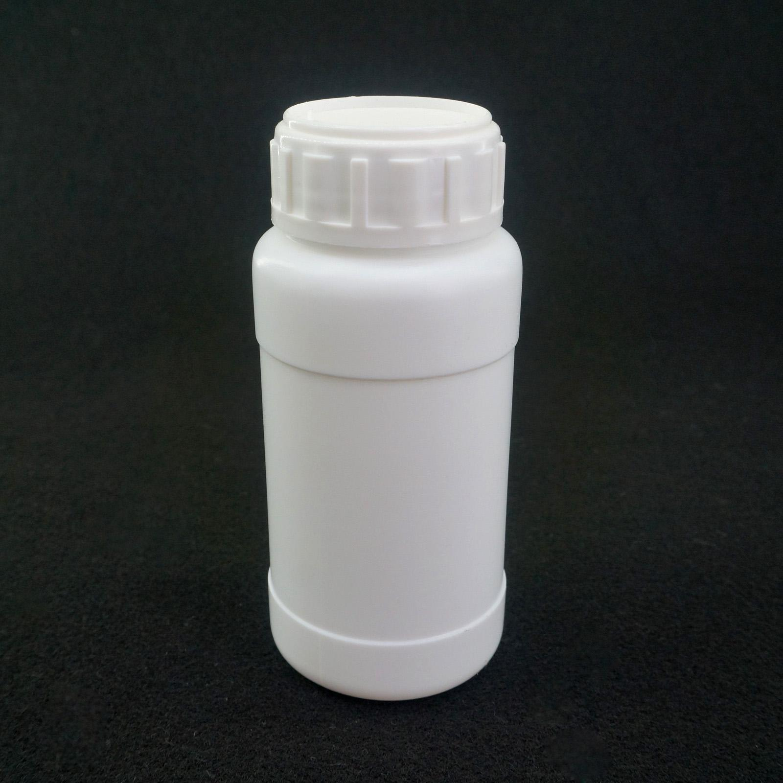 250ml Fluorinated HDPE Bottle Chemical Resistance Lab Science