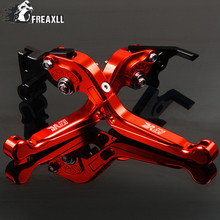 Motorbike Accessories CNC Motorcycle Handlebar Brake Clutch Levers Adjustable Folding Extendable For Suzuki DR 650 SE DR 650 S цена и фото