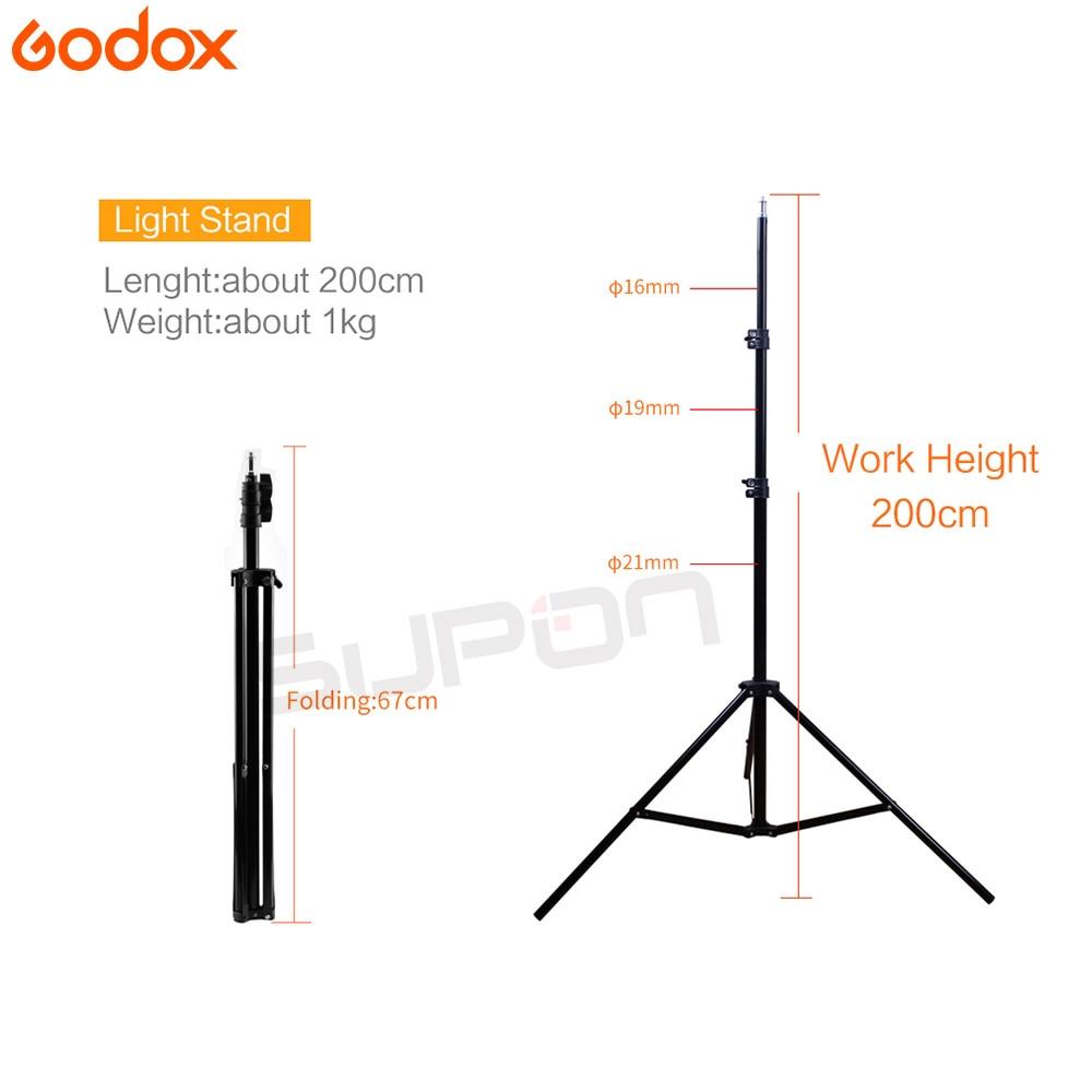 Le plus récent 120DI 360Ws GODOX 3*120 Ws Pro Studio de photographie Flash stroboscopique lumière Kit 360 W-in Accessoires pour studio photo from Electronique    3