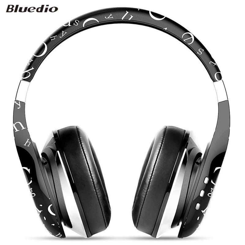 ФОТО Bluedio Air Model 3.5mm 4.1 Bluetooth Wireless Headphones Headset with Microphone Noise Cancelling voice control Music Earphone