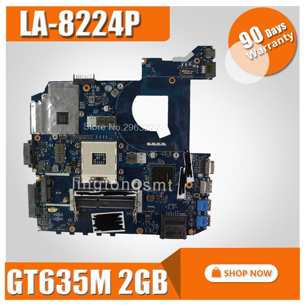 For Asus QCL40 LA-8224P Laptop Motherboard REV 1.0 Mainboard K45VD A45VD USB3.0