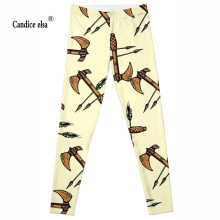 Drop ship High quality Hot !Women pants fashion HOT SALE OF  ax Leggings Digital printed Plus size leggings ZJL149
