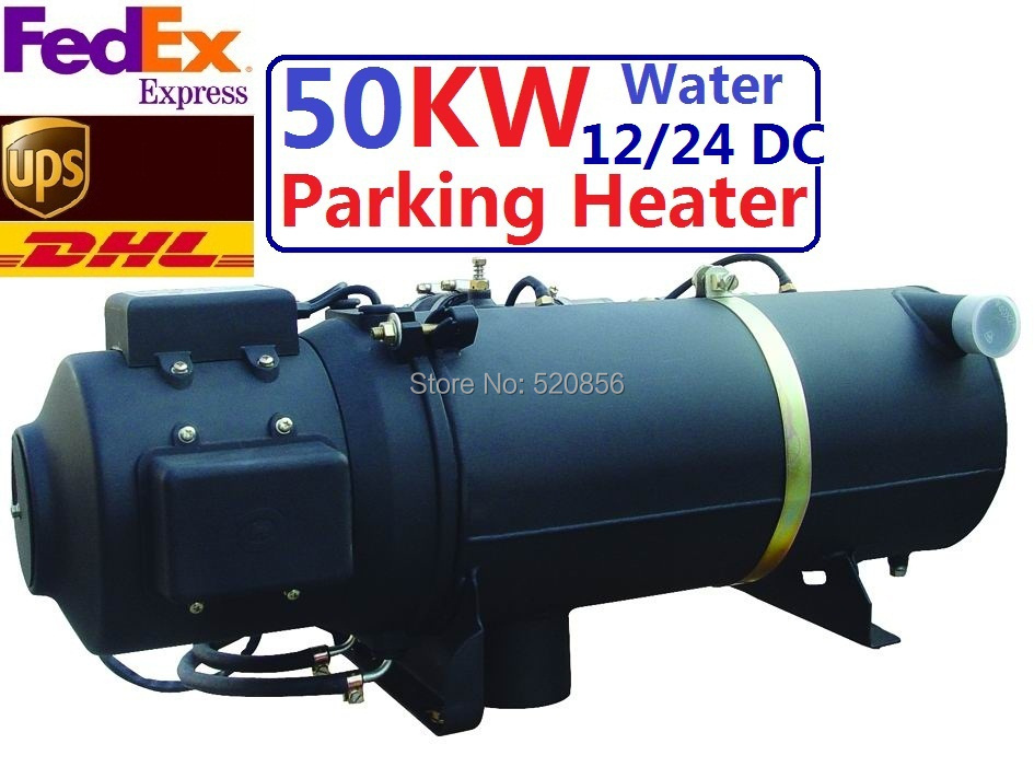 Купить с кэшбэком Free Shipping Hot Sell In Europe 50KW 24V Water Heater Similar Webasto Heater Auto Liquid Parking Heater With  For Big Truck