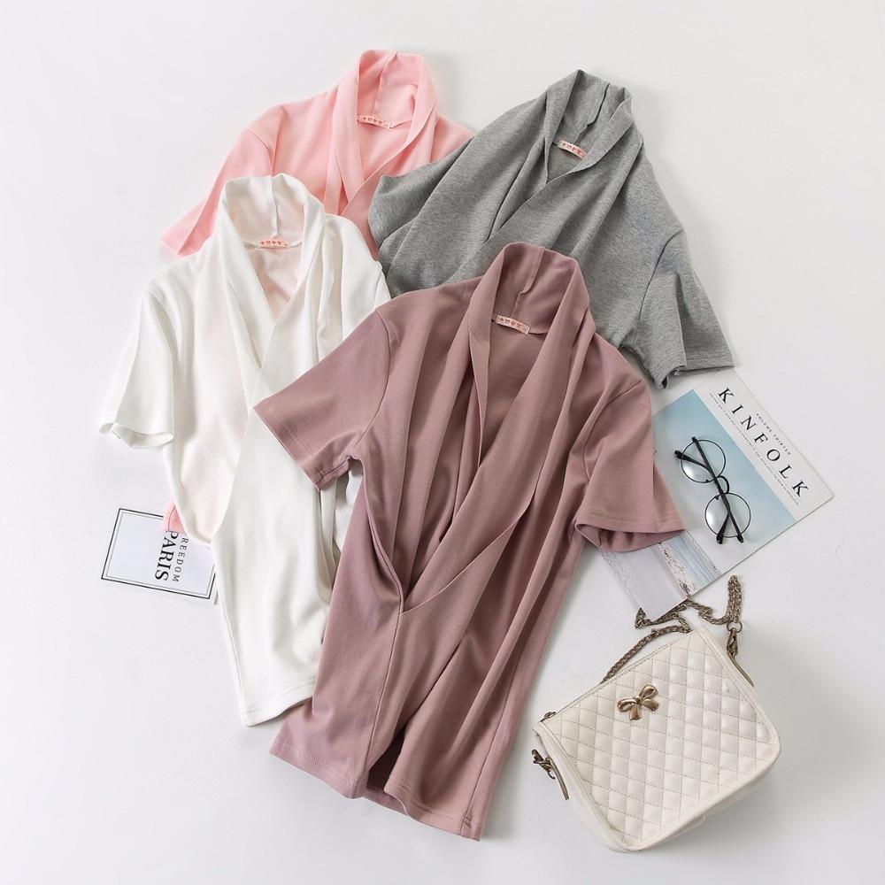 2018 summer Breast Feeding Tops Tees Maternity Nursing Clothes Pregnant Women Breastfeeding T-shirt Maxi Premama Wear Clothing
