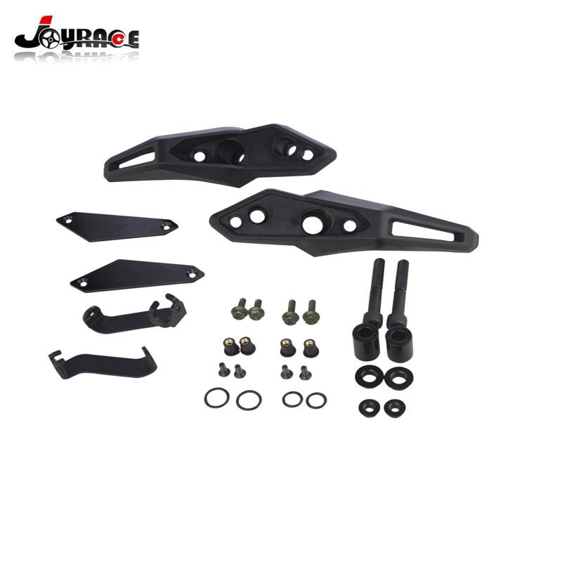 Motorcycle Accessories Engine Guard Frame Slider Stator Decal Cover Panel Protector For Kawasaki Z900RS 2017-2018 Z900 RS motorcycle engine guard frame shroud slider case saver stator crash cover protector for 2018 kawasaki z900rs