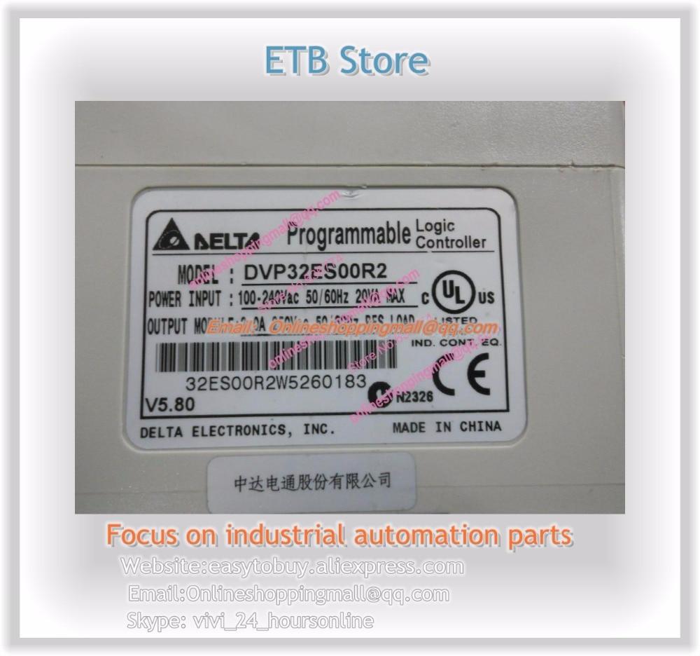 все цены на  New Original DVP32ES00R2 Out DELTA PLC In Box 16DI 16DO Relay Output 1 Year Warranty  онлайн