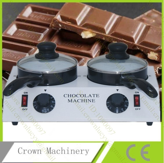 Electric 110V 220V chocolate wine milk tempering machine Ceramic non stick chocolate melter stove chocolate melting