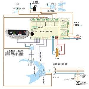 Image 5 - QD U10A מזגן מחשב לוח אוניברסלי המרה לוח תצוגת קבינט מיזוג אוויר לוח בקרה
