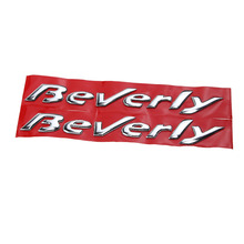 KODASKIN Motorcycle 3D Raise Emblem Stickers Decal for Piaggio Beverly