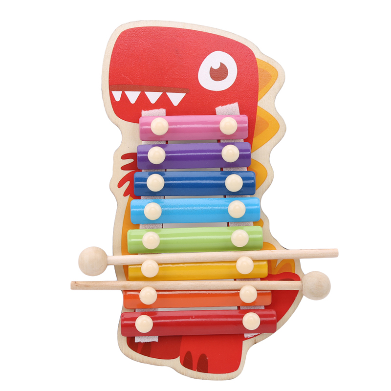 Children Musical Toys Rainbow Wooden Xylophone Instruments Children Music Instrument Learning & Education Puzzle Toy