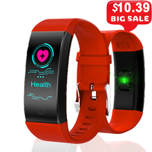 Smart Bracelet Smartband Heart Rate Sleep Monitor Sports Passometer Fitness Tracker Bluetooth Smartwatch Message Reminder s1 bluetooth 4 0 heart rate monitor smartband purple