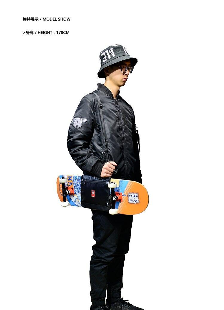 Image 4 - Mackar Pro 25x21 см скейтборд ремни для переноски сумки 22x16 см Малый крейсер доска пакеты мужчин резиновая покрытие Материал сумки-in Скейтборд from Спорт и развлечения