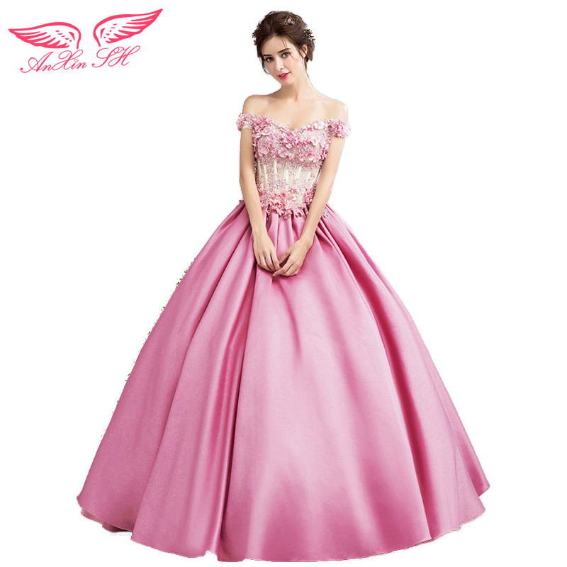 Excelente Vestidos De Novia De Color Rosa Camo Patrón - Colección ...