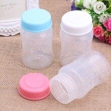 Широкая горлышко Новорожденный ребенок чашка бутылочка для кормления Герметичная крышка крышки BPA бесплатно APR12_30# A