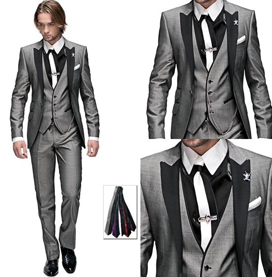 Silver Wedding Suit - Ocodea.com
