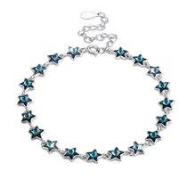VB001 Одежда высшего качества 925 пробы серебряный браслет с винтами одинарный жемчуг браслет для Для женщин Fine Jewelry ожерелье