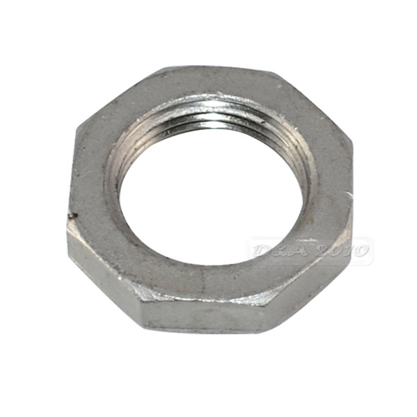 MEGAIRON BSPT 1 DN25 Stainless Steel SS304 Lock Nut O-Ring Groove Hexagon Locking Nuts Pipe Fittings