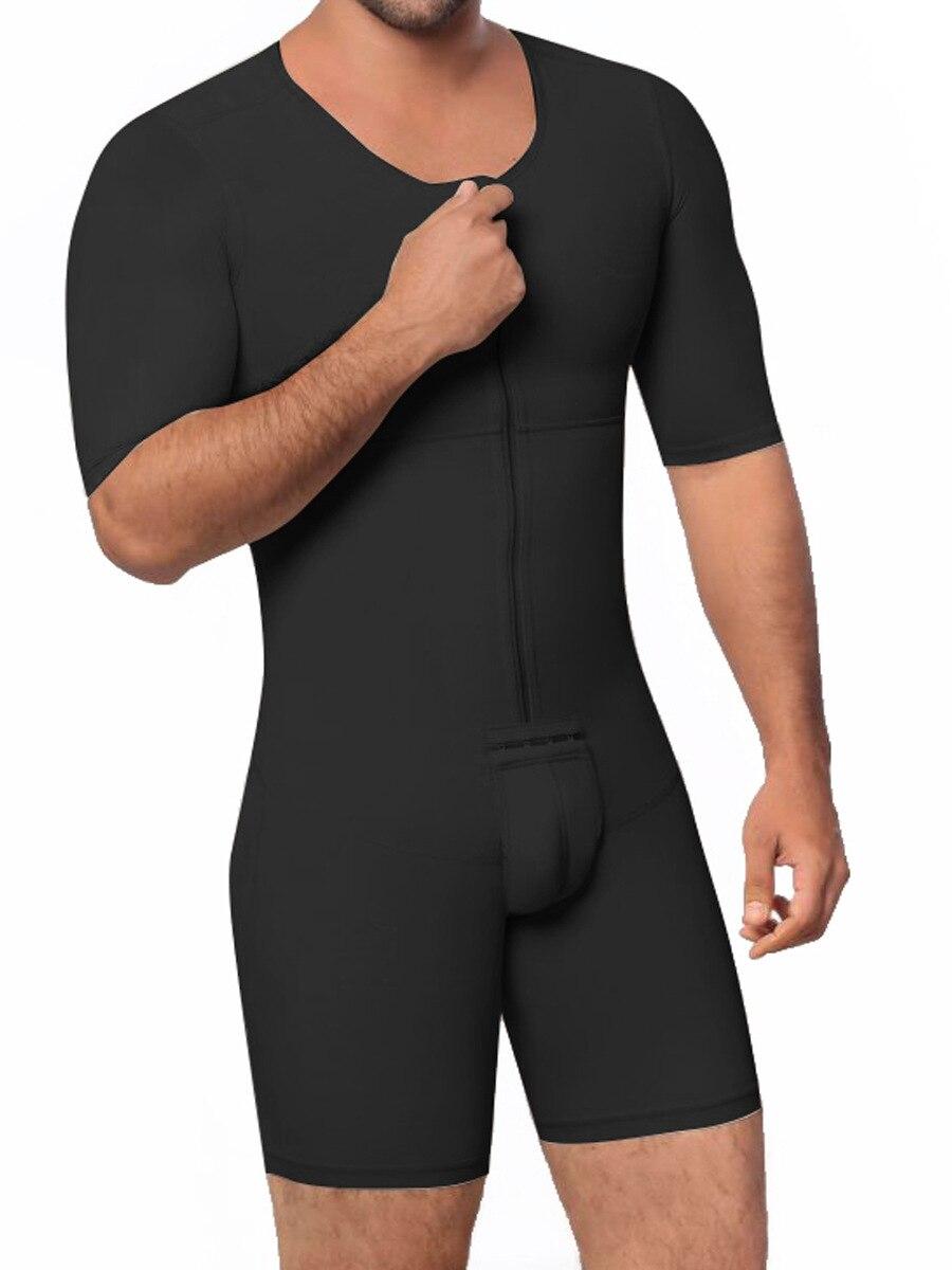 7d540d65824 New Men Full Body Shaper Waist Trainer Slimming Vest Abdomen Belly Shapewear  Butt Lifter Male Slim Bodysuit Underwear ~ Hot Deal May 2019