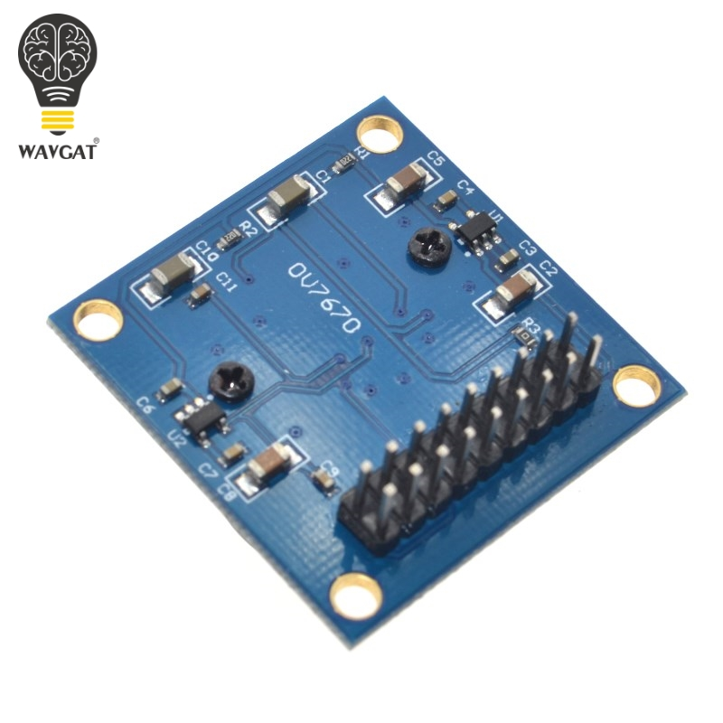 Image 5 - WAVGAT OV7670 camera module OV7670 moduleSupports VGA CIF auto exposure control display active size 640X480 For Arduino-in Integrated Circuits from Electronic Components & Supplies
