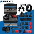 Puluz go pro acessórios 24 em 1 gopro acessórios kit combo com eva caso para gopro hero5/hero4 sessão/hero 5/4/3 +