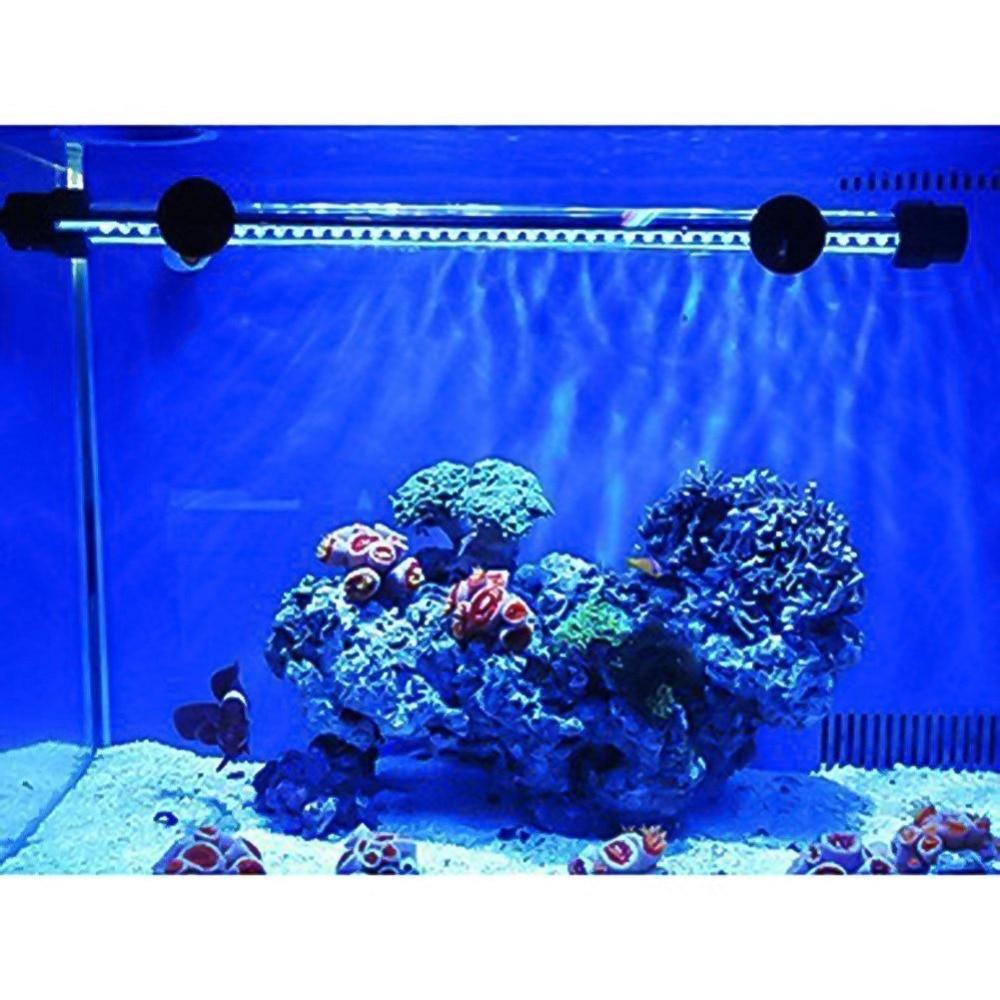 36cm Double Line Full Color Led Lamp Aquarium Light Fish Tank Waterproof Tube Aquatic Coral