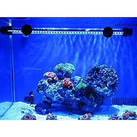 36cm Double Line Full Color Led Lamp Aquarium Light Fish Tank Waterproof Tube Aquatic Coral