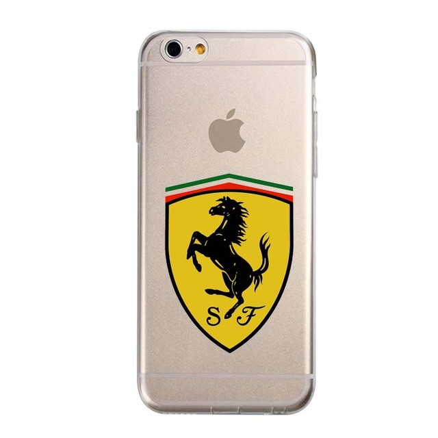 Car Logo Transparent Case For iPhone
