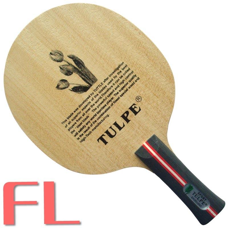 Kokutaku Tulpe T-CARBON-настольный теннис/пинг-понг лезвие - Цвет: FL  long handle