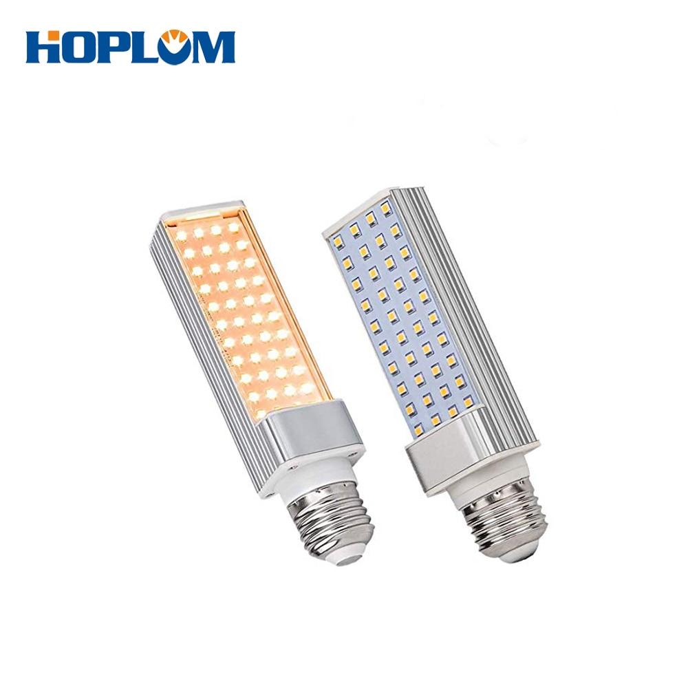 2PCS 110-240V Grow Lights Bulb 45W Full Spectrum Sunlike Grow Lamp Professional For Seedling Growing Blooming Fruit