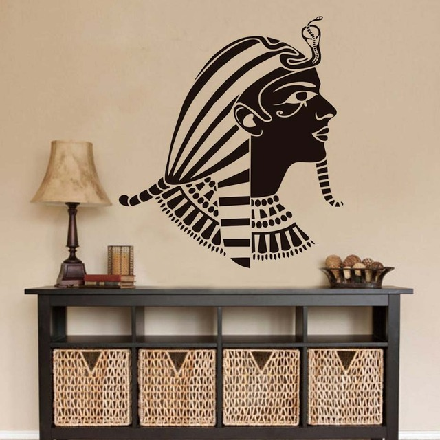 the ancient egyptian figure mural sticker home decor vinyl removable