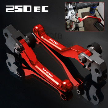 For GasGas EC250 2017 2018 Gas EC 250 CNC Aluminum Motorcycle Motocross Dirt Pit Bike Pivot DirtBike Brake Clutch Levers