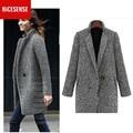 Casaco feminino casaco de inverno mulheres sobretudo poncho bayan kaban outono 2016 manteau abrigos mujer femme cape casaco de lã plus size