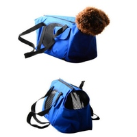 Summer Autumn Pet Bag Breathable Pet Carriers For Small Dogs Solid Shoulder Dog Cats Outdoor Portable Bag 2 Colors