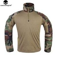 EMERSONGEAR Tactical Hemd Jagd kleidung G3 Military BDU Airsoft Emerson Paintball Uniform Woodland EM9278