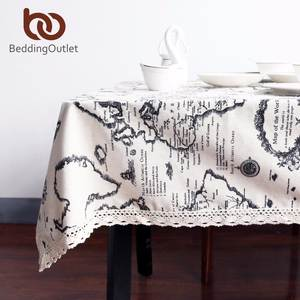 BeddingOutlet Table Cloth Cotton Tablecloths Rectangular