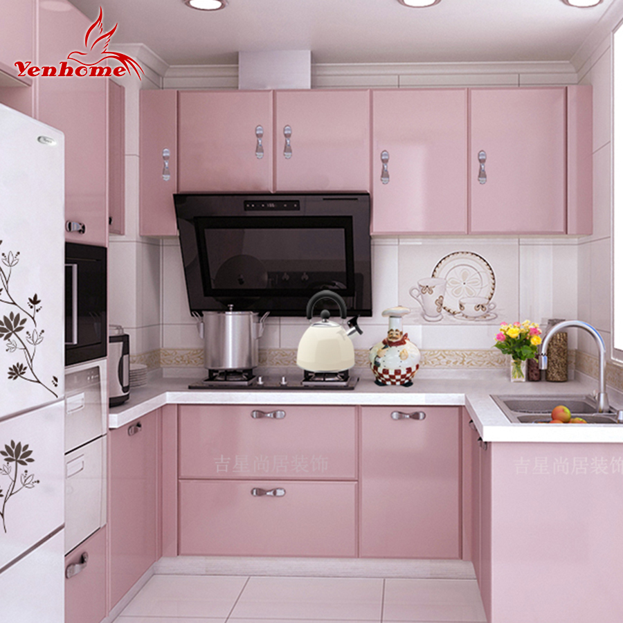 Modern Kitchen Wallpaper Popular Pvc Kitchens Buy Cheap Pvc Kitchens Lots From China Pvc