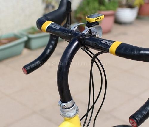 Titanium 3al 2 5v Gooseneck Bike Stem 25 4 31 8mm Customized