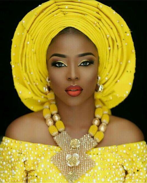 Последней Африканской Свадебные Нигерийские Бусы Ювелирные Наборы Желтый Невесты Кристалл Заявление Ожерелье Женщины Подарок Бесплатная Доставка WE008