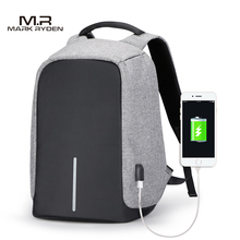 Men Business Backpacks USB Charging Design School Backpack for Teenagers Laptop Backpack Anti-theft Bags for Trip