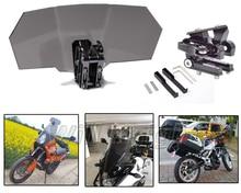 Поднялся дым лобовое стекло воздуха Дефлектор кронштейн комплект Экран протектор с замком для BMW s1000xr F800GS F700/F800/gs/ приключения