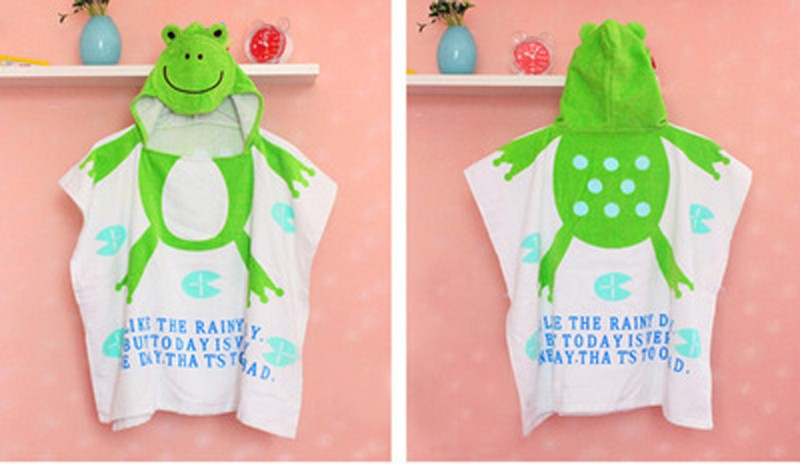 New-Baby-Boys-Girls-Pajamas-Autumn-Summer-Children-Cotton-Animal-funny-bathrobe-Tower-blanket-Kid-SleepwearT0018