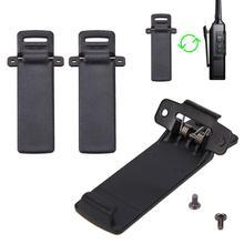2 шт Walkie Talkie запасная часть Задний зажим для ремня для Baofeng 2-way Radio UV5R для Baofeng intercom UV5R/5RA/5R+/5RB/5RC