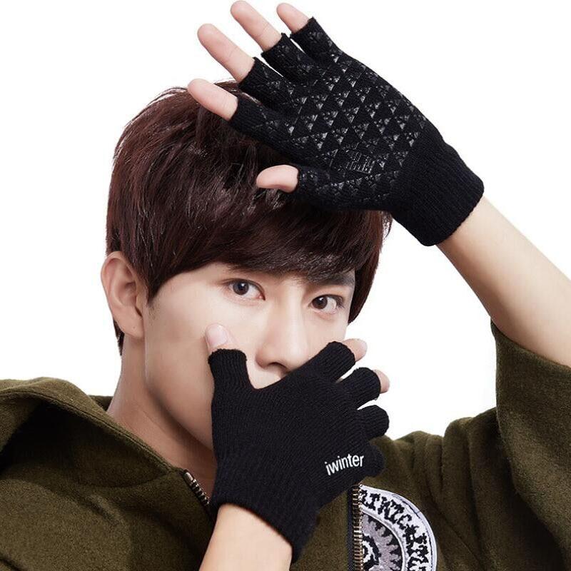 BING YUAN HAO XUAN Half Finger Gloves Men and Women