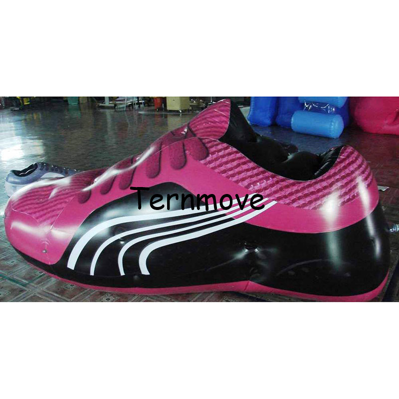 Big Inflatable Shoes Model, giant inflatable shoe replica for Advertising Decoration inflatable sneaker replica for sport event цена