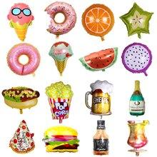 Купить с кэшбэком Fruit Foil Helium Balloons Air Baloon Baby Toys Children's Party Ballon Happy Birthday Party Decorations Kids Adult Diy Supplies