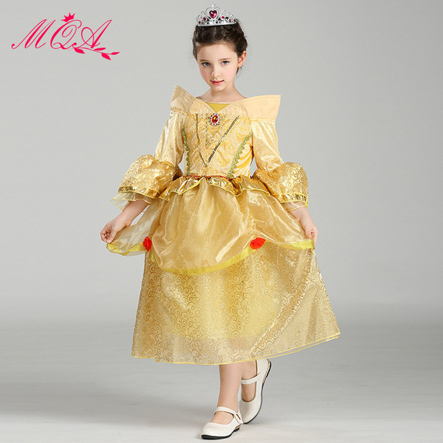 c97375cc0ea7 Girl Princess Dress Birthday Party Cosplay Dress Clothing Flower ...